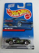 Hot Wheels 1999 63 VETTE 1963 CORVETTE #174
