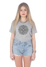 Mandala Boho T-shirt Top Fashion Grunge Tumblr Bohemian Summer Festival 70's