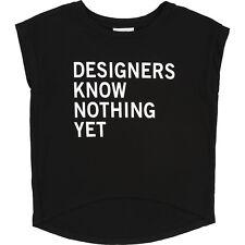 DKNY Kids T-Shirt schwarz mit coolem Print 122 128 134 140 146 152 158 164 172