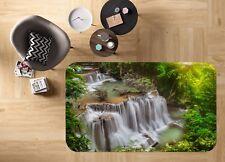 3D Jungle Cascade 68 antidérapants Tapis Tapis Chambre Tapis De Qualité élégant Photo Tapis UK