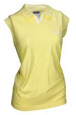 Reebok Women's NFL Football Green Bay Packers Sleeveless Polo Shirt, Yellow