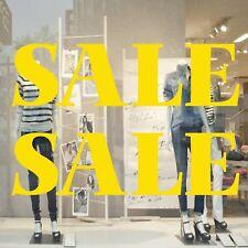 x 2 Large SALE Shop Window Sign Vinyl Sticker Retail Display Advertising 71 x 21