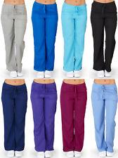 UltraSoft Medical Nurse Uniform Womens Junior Cargo Pocket Scrub Pant - PETITES