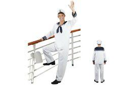 Matrosen-Kostüm Komplett-Set Karneval Seemann-Kostüm Fasching Matrosen-Anzug NEU