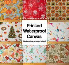 """Seasonal Printed Canvas Waterproof Outdoor Fabric 59"""" W 600 Denier Soldbytheyard"""