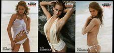 2009 Sports Illustrated  SI Swimsuit KIM CLOUTIER 3-Card Lot Bikini NEW