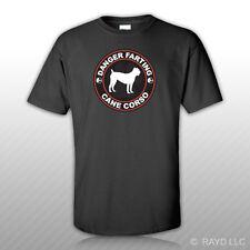 Danger Farting Cane Corso T-Shirt Tee Shirt Free Sticker dog canine pet
