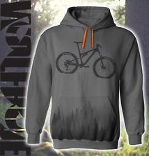 MTB - Mountain bike hoodie - hooded top, down hill, bike and forest print