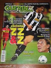 GUERIN SPORTIVO 2004/39=IBRAHIMOVIC=FILM CAMPIONATO=PROTTI LUCARELLI LIVORNO=
