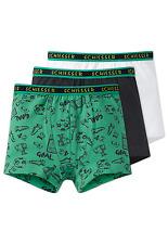 SCHIESSER Jungen Hip-Shorts Fussball 3er Pack 104 116 128 140 Unterhosen Slips