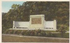 Postcard  Memorial Bas Relief Compact Provincetown Mass