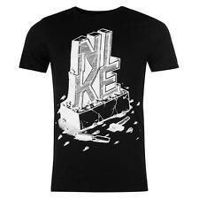 """Tee shirt NIKE noir modèle """"QTT"""" - Du S au XXL (Taille grand)"""