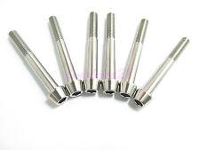Titanium M8 x 65mm Tapered Ti Bolt Taper Hex Allen Socket Head Screw GR5
