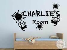 Ragazzi Personalizzato Camera Da Letto Adesivi Da Parete Bambini Vivaio stanza dei bambini Decor decalcomanie