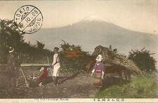 CARTE POSTALE JAPON JAPAN FUJI FROM OTOMETOGE HAKONE