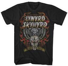 LYNYRD SKYNYRD - Motor Skull - T SHIRT S-M-L-XL-2XL Brand New - Official T Shirt