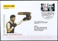 BRD 2005: Max Schmeling! FDC Nr. 2489 mit Berliner Sonderstempel! Gelaufen! 155