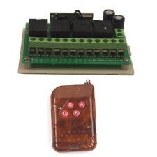 Smart 12V 4CH Channel Wireless Remote Control Relay Switch Garage Open Module