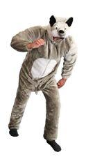Deluxe Wolfkostüm Kostüm Wolf plüsch Wölfe Plüschkostüm Rotkäppchen Gr. L-XXXL