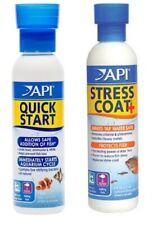 API Stress Coat & Quick Start Starter Kit 30ml 118ml 237ml 473ml 1.9l Aquarium
