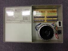 CCTV SECURITY CAMERA POWER Supply Distribution Box 24V AC 16ch 25 Amps PTC Fuse