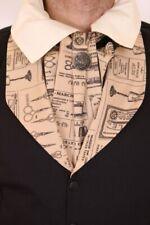 Krause krawatte beige creme -muster couturier, aristokrat st Phaze - Gold