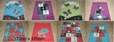 Quality Large Rugs 120cm x 170cm Kids Designs hopscotch, Rug Bright New Colours
