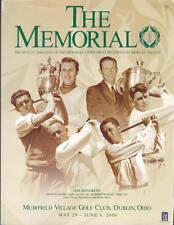2006 The Memorial Golf Program - Carl Pettersson Win Muirfield Village Ohio