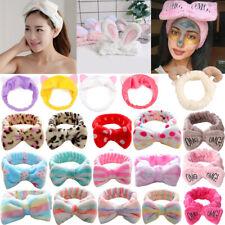 Spa Bath Shower Makeup Wash Face Cosmetic Headband Hair Band Velvet Headwear SPA