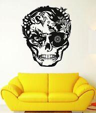 Wall Decal Skull Horror Coolest Tribal Art Room Vinyl Decal (ig2643)