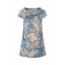 ex White Stuff Oriental Bloom Print Cotton Tunic Top