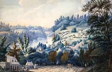 Edward Walsh, Queenstown, Upper Canada on the Niagara, Museum Art, Canvas Print
