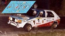 Calcas Talbot Horizon Rally 2000 Viratges 1981 1:32 1:24 1:43 1:18 Zanini decals