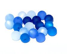 20 pezzi polarisperlen circa perlenmix Perle Miscela Blu Turchese POLARIS bacatus