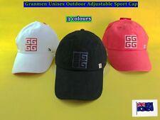 Granmen Unisex Outdoor Adjustable Baseball Golf Sports Cap - New (B25)