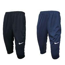 Nike 3 4 Sporthose Trainingshose Hose verschließbare Taschen Dri-Fit Mesh Herren