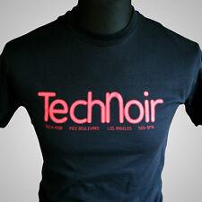 Technoir Movie Themed Retro T Shirt 1984 Terminator Sci Fi Cult Cool