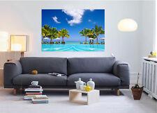 3D Cozy Vacation Spot 78  Wall Stickers Vinyl Wall Murals Print AJSTORE US Lemon