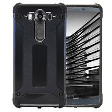 For LG V10  Mobile Case Hard Hybrid Plastic Plain Glossy Shockproof TPU Armor