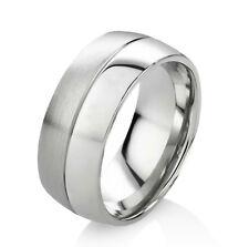 Verlobungsring Ehering Herrenring Damenring aus Edelstahl mit Ring Gravur E032