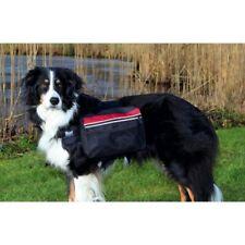 Mochila alforja negra con 2 bolsos de transporte laterales para perros