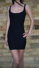 Petite robe noire Rose Mini Stretch Bandage Collant Shop £ 18 Taille 8 10 14 16
