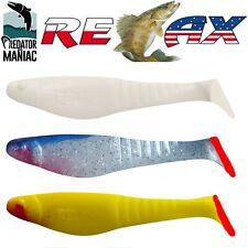 "relax kopyto shark 4"" (115mm) 3pcs.shadteez,minnow,spikey,jigging,lure,cannibal"