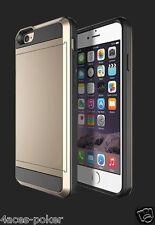 Apple Iphone 6 4.7 Schutzhülle Bumper Schale Etui Metalloptik Hard Case Tasche