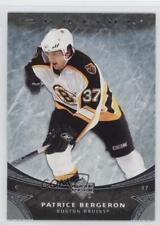 2006-07 Upper Deck Ovation #152 Patrice Bergeron Boston Bruins Hockey Card