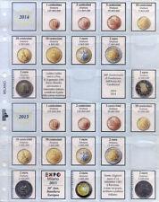 Masterphil Pagine di Aggiornamento Monete Euro ITALIA Master Phil Kit Inserti