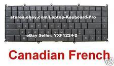 Dell Adamo 13 A13 A13-4439E Keyboard Clavier - Black - Canadian French
