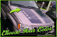 1999 - 2004 Jeep Grand Cherokee Custom Vinyl Hood Racing Stripes Graphics #3