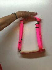 Adjustable Hog (PIG) Harness W/ SADDLE PADDING Hand Made Metal Buckle Easy Fit