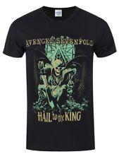 Avenged Sevenfold Men's Black T-Shirt Hail to the King En Vie AX7 Band